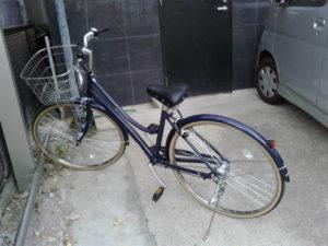 自転車を購入しました